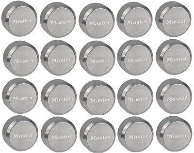 Master Lock 6271ka Hidden Shackle Lot Of 20 Keyed Alike Reinforced Puck Locks