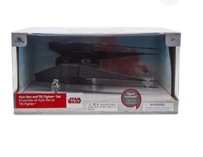 New Disney Store Kylo Ren And Tie Fighter Ship Star Wars  The Last Jedi 11  L