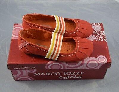 Marco Tozzi Mädchen Sandalen Rot Größe 32 NEU