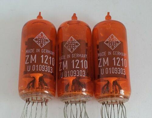 3 X ZM1210 Red Telefunken Nixie Tubes ZM1210 Tube