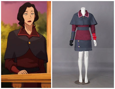 Avatar: The Legend of Korra Season 4 Asami Sato Cosplay Clothing custom made