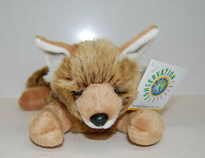 Plush Coyote Pup - Conservation Critters by Wildlife