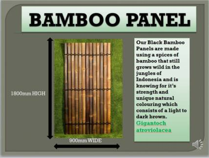 BAMBOO FENCE PANELS 4 PRIVACY FENCING,SCREENING AND BACKYARDS