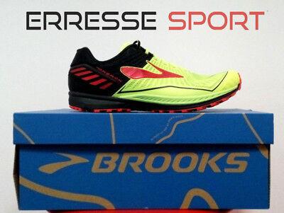 Brooks Mazama trail running shoes cross offroad man superlight
