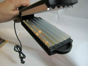 2bb 2 inch hair crimper crimping iron wave aluminium plate compare hot tool ebay. Black Bedroom Furniture Sets. Home Design Ideas