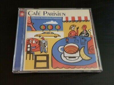 CD ALBUM - CAFE PARISIEN - 25 ORIGINAL FRENCH ACCORDION SONGS, usado comprar usado  Enviando para Brazil