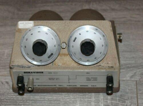 Dekavider DV-412 Voltage Divider..Used & Untested