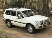Toyota Landcruiser GXL 2003 Dual Fuel v8 Auto Young Young Area Preview