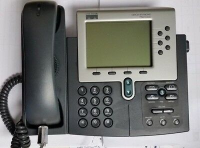 Cisco Ip Phone 7900 Cp-7960g Unified Voip Business Office Phone