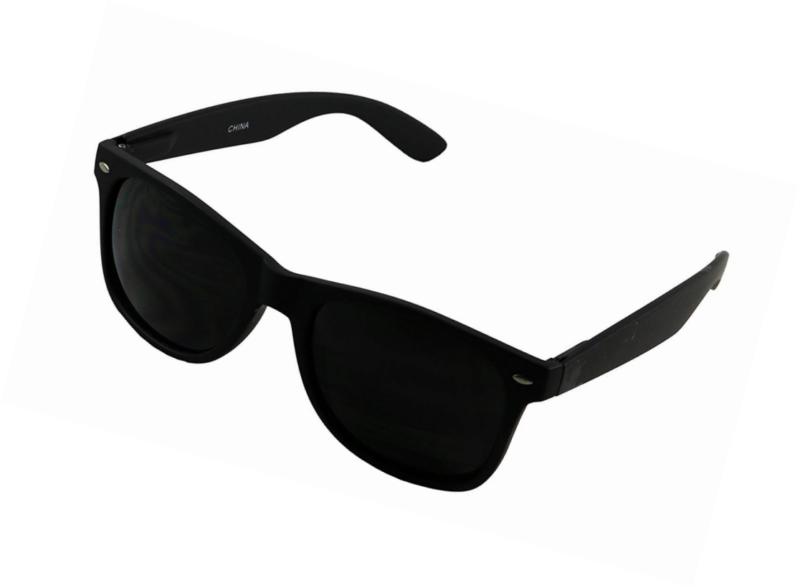 c1c2e6251 ShadyVEU - Super Dark Blacked Out Retro Round 80's Casual UV400 ...