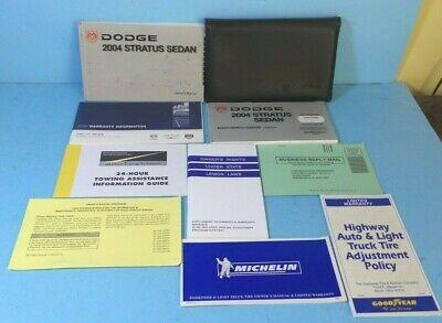 2004 Dodge Stratus Owners Manual - 04 2004 Dodge Stratus Sedan owners manual