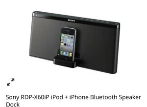 Sony Bluetooth speakers and /or docking station