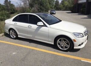 2009 Mercedes Benz C350 with only 37,000 km