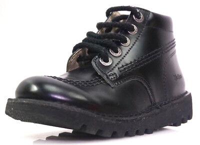 Kickers Neorallye Gr.29 Unisex-Kinder Jungen Mädchen Schuhe Desert Boots Schwarz