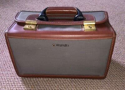 Genuine Samsonite Square Material Vanity Case