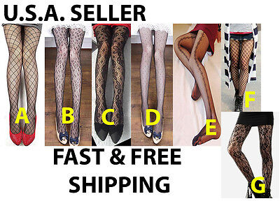 Womens Jacquard Fishnet Tights Panty Hose Tights Animal Halloween Costume - Tights Costume