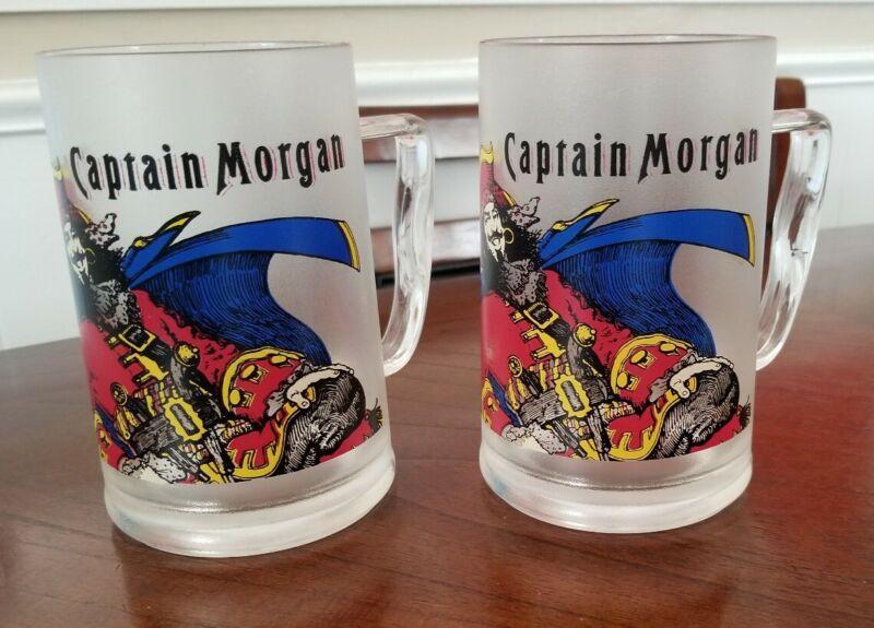 Captain Morgan Mug Acrylic Set Of 2