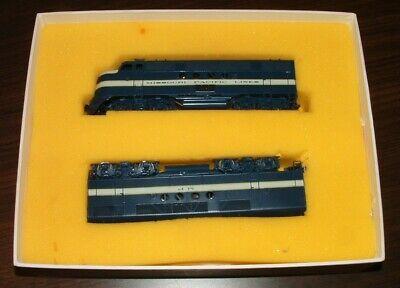 VINTAGE HALLMARK MODELS HO FT A&B DUAL POWERED DIESEL TRAIN ENGINE SET MINT MIB