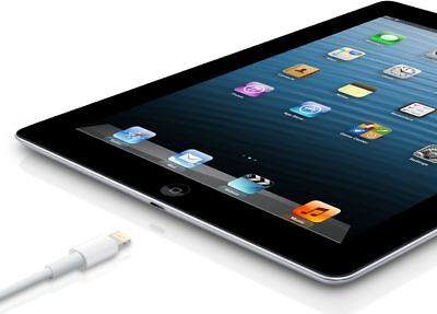 Apple iPad 4th Gen Retina 16GB, WiFi Only  9.7in Black A Grade 12 M Warranty
