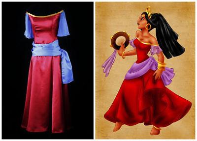 The Hunchback of Notre Dame Esmeralda Dress cosplay costume custom made#10](Hunchback Costume)