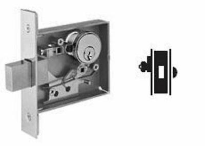 Schlage L460p 626 Single Cylinder Mortise Lockset Cylinder X Thumbturn