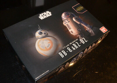 Bandai Star Wars Bb 8   R2 D2 1 12 Plastic Model Kit Japan