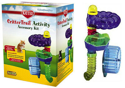 Kaytee CritterTrail Accessory Activity Kit. Crittertrail