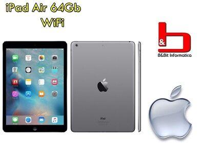 "iPad Air 32Gb WiFi 9.7"" Retina Bluetooth Webcam SpaceGray MD786TY [GRADE B] ITA usato  Ogliara"