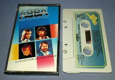 ABBA THANK YOU FOR THE MUSIC cassette tape album T7064