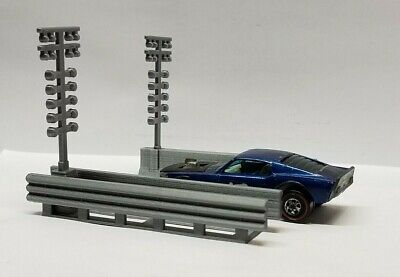 1/64 S-Scale Diorama NHRA Drag Racing Staging Lights/Christmas Tree Kit ()