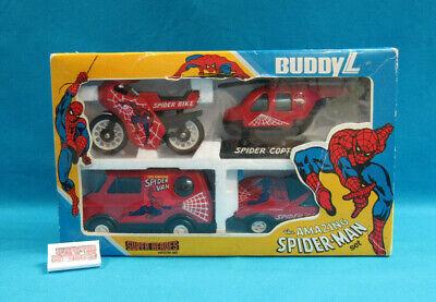 "The Amazing Spider-Man Super Heroes Vehicle Set Buddy L ""Brute"" 1982 w/ Box"