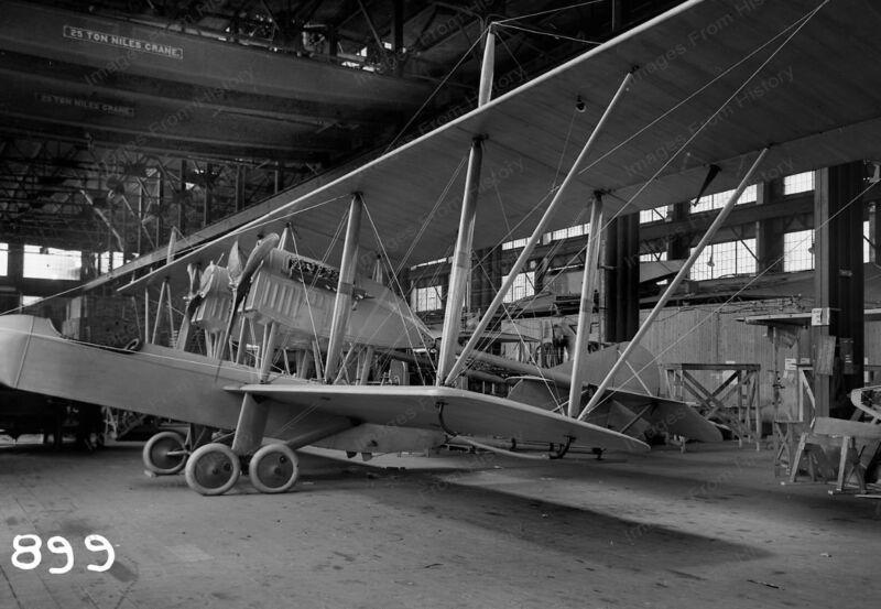 8x10 Print Curtiss C-1 Bomber Toronto Canada Factory 1915 #C44209