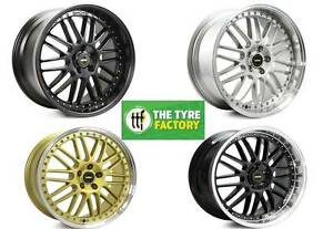 """20"""" Simmons OM 1 Wheels STAGGERED Ford Falcon Holden Commodore Frankston Frankston Area Preview"""