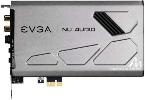 EVGA NU Audio Card, 712-P1-AN01-KR, Lifelike Audio, PCIe RGB LED✅ EVGA B-STOCK ✅