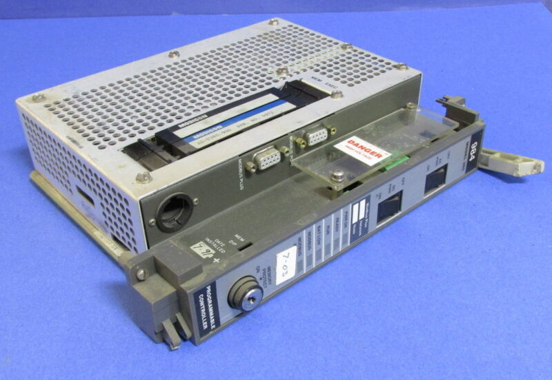 AEG MODICON PROGRAMMABLE CONTROLLER PC-F984-385 BROKEN HANDLE