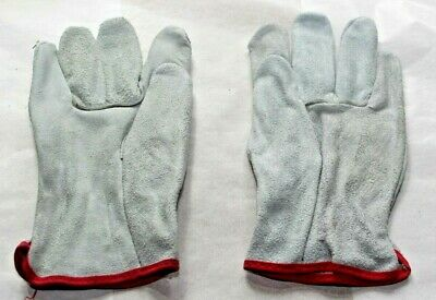 12 Pairs West Chester Heavy Duty Leather Work Gloves Small Medium Large Xl