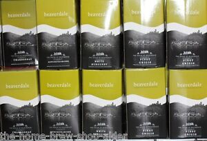 Beaverdale Wine Kit Chardonnay - Home Brewing - 30 Bottle - 23 ltrs