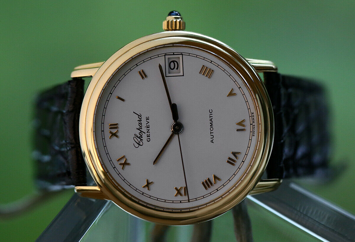 Chopard Linea d'Oro Ref# 1169 18k Yellow Gold Automatic Wristwatch - watch picture 1