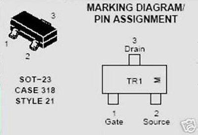 Tr13  On Semiconductor Transistor Ntr4501n Smd  20 Pcs