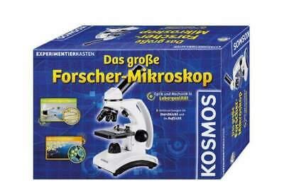 Kosmos Experimentierkasten 636029: Das große Forscher-Mikroskop