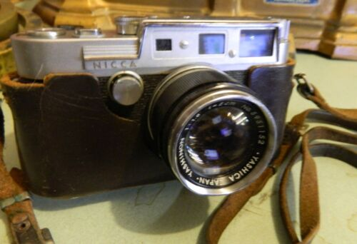 YASHICA YF NICCA rangefinder Leica camera with 50/1.8 YASHINON, nice condition