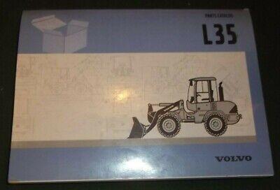 Volvo L35 Wheel Loader Parts Manual Book Catalog