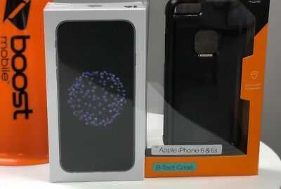 NEW Raise in addition Mobile Apple iPhone 6 32GB Space Gray w/ 1st month of service Empty