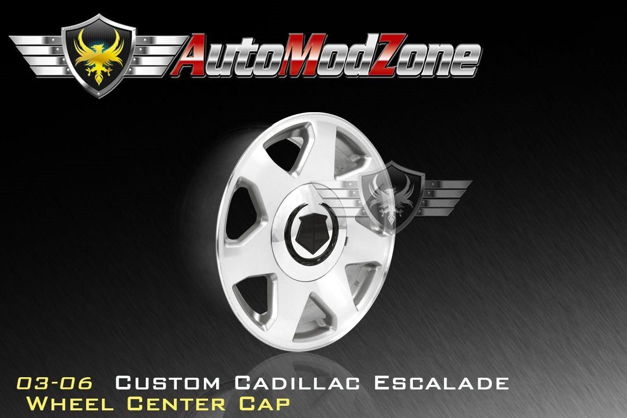 03 06 Cadillac Escalade Chrome Wheel Hub Center Cap Hubcap