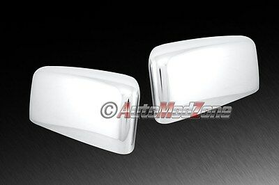 (03-06 Lincoln Navigator Chrome Side View Mirror Cover Upper Half Covers Set)