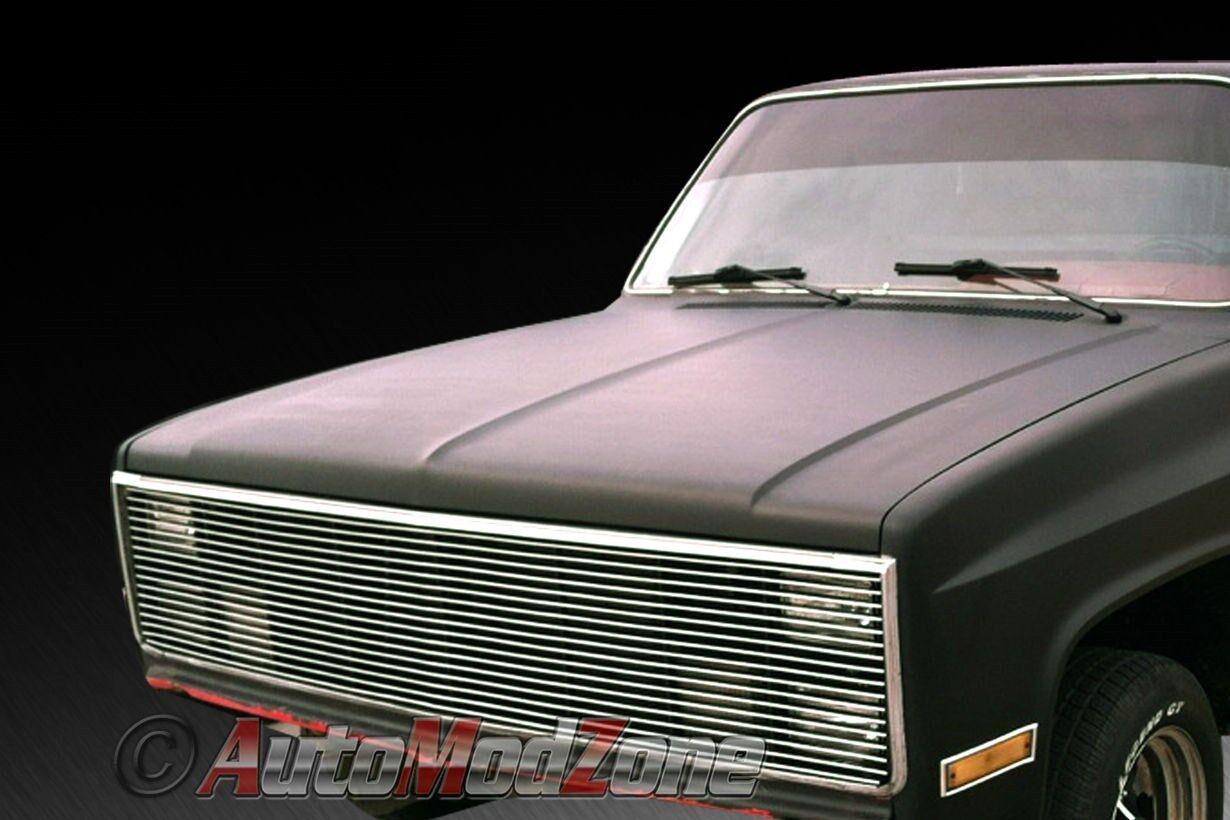 81 87 chevy gmc ck pickup blazer suburban phantom billet grille grill insert ebay. Black Bedroom Furniture Sets. Home Design Ideas