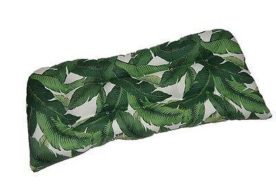 Indoor Outdoor Wicker Loveseat Settee Bench Cushion, Tropica