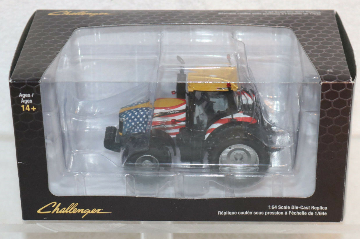 SpecCast Challenger MT865E Tracked Tractor American Flag 1:64 Scale Diecast NEW