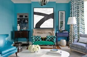 Home Decor Large Painting Abstract Contemporary Modern Art