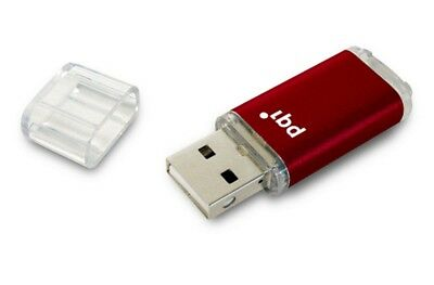 128GB PQI U273V Traveling Disk USB Flash Drive - Red - USB3.0